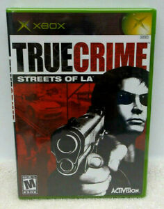 True Crime: Streets of L.A. (Microsoft Xbox, 2003) Brand New Factory Sealed