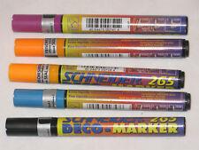 5 Schneider Deco 265 Liquid Chalk Markers Chisel(1-3mm)Tip