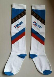 New Fendi Roma x Fila socks Small size Long cotton