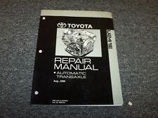2006 2007 2008 2009 Toyota Camry U241E Transmission Shop Service Repair Manual