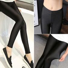 Fashion Women's Black High Waist Jeans Skinny Stretchy Pants Pencil Leggings 5XL