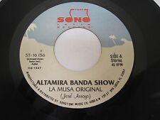 "ALAMIRA BANDA SHOW ""La Musa Original"" Sono Tone Miami Florida"