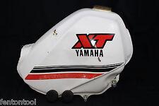 Yamaha XT600 FUEL TANK & MOUNTING RUBBER (NO CAP) FREE SHIPPING 1984 XT 600 GAS