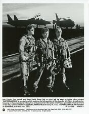 KEN OLANDT CEC VERRELL JOHN DAVID BLAND PORTRAIT SUPERCARRIER 1988 ABC TV PHOTO