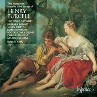 The King's Consort - The Complete Secular Solo Songs of Henry Purcell [CD]