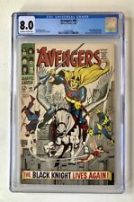 Avengers #48 (1968) CGC 8.0 OW/W First Appearance Black Knight Eternals!!!