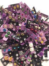 100 Pairs Of Studs Earrings Wholesale Lot