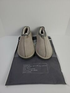 Men's Leather Moccasin Slipper Booties Cow Suede Sz 12