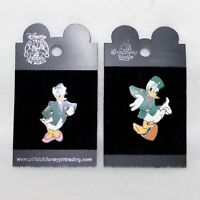 """Walt Disney Pin Trading 2 Pins """"DONALD DUCK & DAISY DUCK ARMY SOLDIERS"""""""