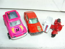 VINTAGE Matchbox Renault 17 R17 majorette R5 Turbo 2 vespa scooter side car Guis