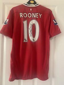 Manchester United Wayne Rooney Signed Shirt