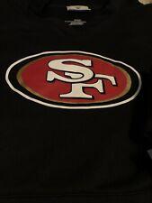 San Francisco 49ers NFL FANATICS Sideline Pullover Hoodie Black Large SF Sweater