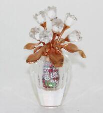 Swarovski Figurine Tulips in Vase Flowers 7Stück