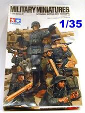 Military Figures GERMAN ARTILLERY TROOPS Tamiya 35031 unassembled 1/35