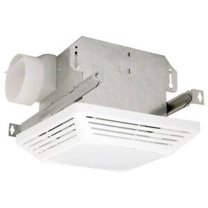 Air King 3-Sone 50-CFM White Bathroom Fan w/ Fluorescent Light ceiling (ASF50)
