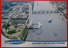 THUNDERBIRDS (The 2004 Movie) - Card#54 - Danger Above The Thames - Cards Inc