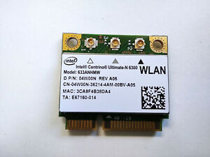 Dell Latitude E5430 E5520 E5530 E6230 E6330 E6410 WiFi Wireless Card 04W00N