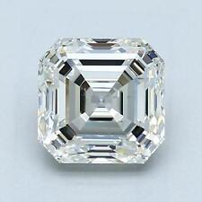 Charles and Colvard Forever One DEF 6.5mm Asscher Moissanite With Certificate