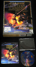 STAR WARS REBEL ASSAULT II 2 THE HIDDEN EMPIRE Pc Italiano Big Box •••• COMPLETO