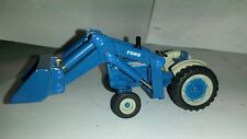 1/64 ERTL custom Ford 5000 tractor with Ford loader farm toy free ship s scale