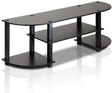 Tv Stand For 55 Inch Flat Screens With Mount Entertainment Center Storage Black