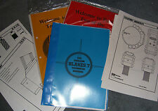 HORIZON BLAKES 7 TECHNICAL MANUALS (full set) produced by the official fanclub