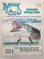 Musky Hunter Magazine June July 1992 Tactics For Heavy Fishing Traffic Fisherman
