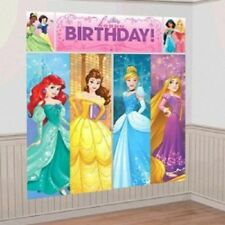 PRINCESS DREAM BIG BIRTHDAY PARTY SUPPLIES SCENE SETTER WALL POSTER DECORATIONS