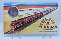 2019 50 Cent UNC Colored Coin in Card Celebrating 90 Years of The Ghan RAM