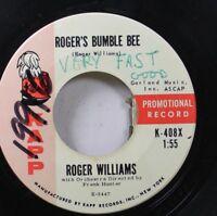 Pop Promo 45 Roger Williams - Roger'S Bumble Bee / Yellow Bird On Kapp Records,