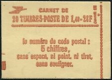 France Carnet Moderne N°2102-C7 Confectionneuse N°8 NEUF ** LUXE