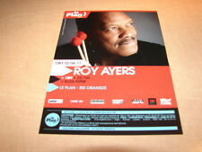 ROY AYERS - 2011!!!!!!!!!!!!!!!!!!!!!!!RARE FRENCH FYER