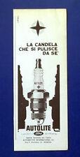 A773-Advertising Pubblicità-1964-CANDELE AUTOLITE - FORD