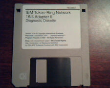 Floppy IBM Token-Ring Network 16/4 Adapter II Diagnosic Diskette 78G9657 3.00