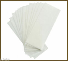 100pcs Waxing Wax Strips Paper Non Woven Strip Hair Removal Salon Spa Disposable