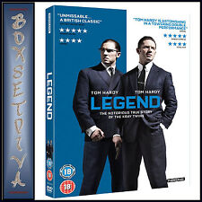 LEGEND -  Tom Hardy & Emily Browning ***BRAND NEW DVD ***