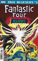 Fantastic Four Comic 1 Klaw Classic Reprint 2019 Stan Lee Jack Kirby Marvel