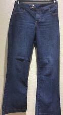 NYDJ Women's Size 8P Dark Wash Jeans Lift Tuck Technology Style# P10209SM