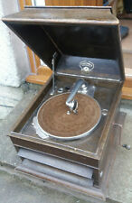 VINTAGE GRAFONOLA COLUMBIA  GRAMOPHONE - WORKING BUT NEEDS RESTORED