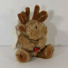The Boyds Collection Plush Moose - Matilda with Holly Berries (Angel)