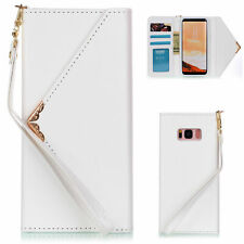 Envelope Leather Wallet Cover Case For Samsung Galaxy Note 10/S10+/S9/S20 Ultra