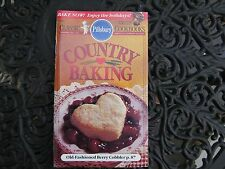 "Pillsbury Classic Cookbook ""Country Baking"" #141 ~ 1992..Like New!"