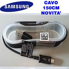 Samsung Original USB to MicroUSB Cable Ecb-du4ebe 150cm - Nero