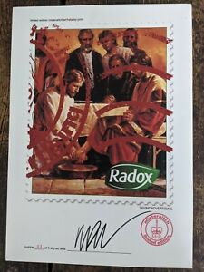 """Misteraitch """"Radox"""" Divine Advertising signed limited edition colour print 3/5."""