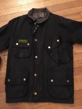 Barbour International Wax Jacket Size 36/Medium Steve McQueen Style