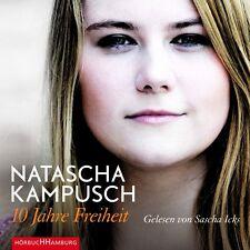 SASCHA ICKS - NATASCHA KAMPUSCH: 10 JAHRE FREIHEIT HÖRBUCH HAMBURG 6 CD NEU