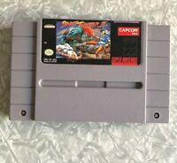 SNES Street Fighter II World Warrior Super Nintendo Cartridge Cleaned & TESTED