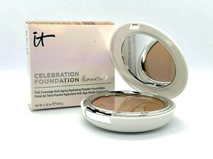 It Cosmetics Celebration Foundation Illumination Powder ~ Rich ~ .30 oz BNIB