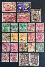 Malaya Stamps, Malaysia, Old