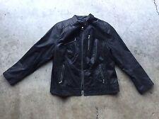 Levi's Stingray Leather Moto Motorcycle Jacket 2XL / L Black Unisex See Sizing